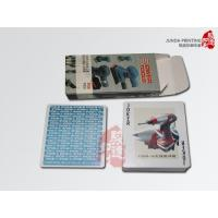 Buy cheap Matte Lamination Print Poker Cards Hot Stamping For Playing Card from wholesalers
