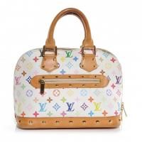 Buy cheap wholesale Multicolor ALMA Top Handle Handbag White from wholesalers