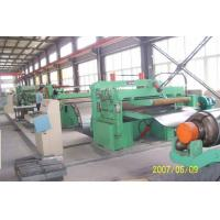 Buy cheap Customized Galvanised Steel Coil Slitting Machine With Uncoiler / Recoiler from wholesalers
