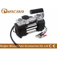 Buy cheap Tyre Inflation 12v Portable Air Compressor Silver Color 32 * 15.5 * 21.5cm from wholesalers