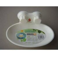 Buy cheap Oval soap dish with suction from wholesalers
