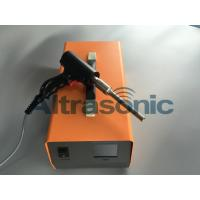 Buy cheap 35Khz Ultrasonic Plastic Extrusion Welding Gun / Ultrasonic Spot Welding Machine from wholesalers