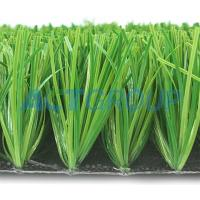 Fastness Synthetic Football Turf , Laying Artificial Turf No Weather Limited