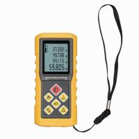 Buy cheap IP54 Profassional Digital ultrasonic distance meter with laser pointer CE , ROHS from wholesalers