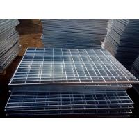 Buy cheap Electro Galvanized Steel Grating Q235 Press Welded Steel Oil Proof from wholesalers