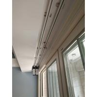 China German technology automatic wireless remote control curtain motor with DIY rails on sale