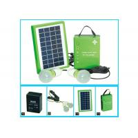 Buy cheap Normal Portable Solar Panel Charger With 5w Solar PV Modules And One Battery 2 Bulbs from wholesalers