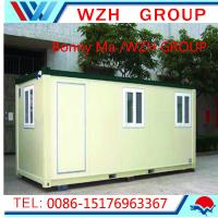 Buy cheap Low Cost Prefabricated Security Guard House/Cabin Portable Houses from wholesalers
