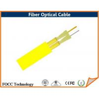 Buy cheap 2 Sub Core Flat Twin Direct Burial Fiber Optic Cable Flame-retardant Jacket from wholesalers