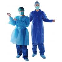 Buy cheap Hospitals Medical  Non Woven Garments / Comfortable Non Woven Surgical Gown from wholesalers