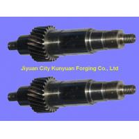 Buy cheap 35CrMo / 42CrMo  Diameter 200 - 750 mm  Professional Forged Steel Shaft Mechanical Parts For Mining product