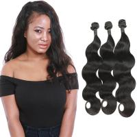 Buy cheap Real Raw Body Wave Weave Hair / 3 Bundles Loose Body Wave Weave Human Hair from wholesalers