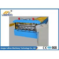 Buy cheap PLC Control Corrugated Roof Sheet Making Machine 10-16m/min 20 Roller Stations from wholesalers