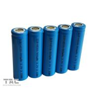 Buy cheap Rechargeable Lithium Ion Cylindrical Battery AA  3.7V 14500 For Solar from wholesalers