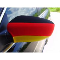 Buy cheap Custom Color Rear View Mirror Cover Germany Flag Silkscreen Printing Sublimatin from wholesalers
