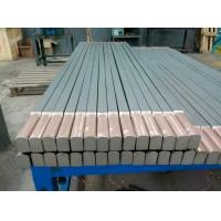 Buy cheap Titanium Copper clad bar ASTM B348 high quality titanium clad copper round square bar from wholesalers