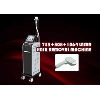 Buy cheap 808nm Diode Laser Hair Removal Machine Vertical Three Wavelength from wholesalers