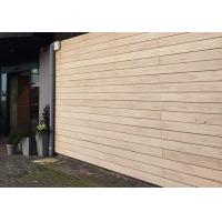 Buy cheap White / Sandalwood Solid Wood Plastic Composite Cladding For Lawn / Balcony from wholesalers