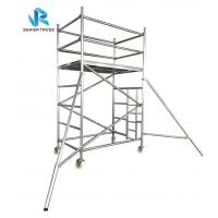 Buy cheap Multi Functional Ringlock Scaffolding System , High Strength Portable Scaffold Tower from wholesalers