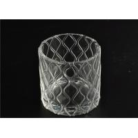 Buy cheap Modern Soda Lime Glass Tea Light Candle Holders Small Heat Proof from wholesalers