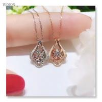 Buy cheap Women Authentic Diamond Chain Necklaces Round Shaped 16 Inches XSN100106 from wholesalers