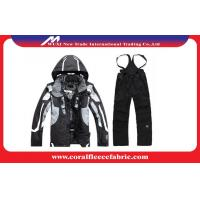 Buy cheap Anti-UV Sportswear Mens Outdoor Jackets and Pants Winter Skiing / Snow Suits from wholesalers