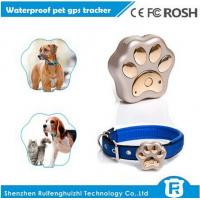 Buy cheap Online pet tracking with google map for small gps cat tracker RF-V30 from wholesalers