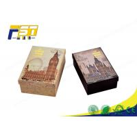 China Rigid Folding Colored Corrugated Shipping Boxes , Corrugated Board Box For Gifts on sale