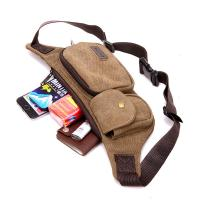 Buy cheap 0.17 Kg Climbing Tactical Men Running Waist Pack With Casual Retro Canvas from wholesalers