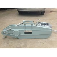 Buy cheap Hand Operated 0.8 - 5.4T Wire Rope Hand Winch Hoist Lever 20 meter product