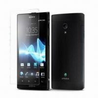 Buy cheap Anti-Fingerprint/Anti-Glare Screen Protectors for Sony Xperia ion LT28i, Made of PET Material from wholesalers