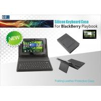Buy cheap Waterproof Protective Leather Case Wireless Bluetooth 2.0 Keyboard For Blackberry Playbook from wholesalers
