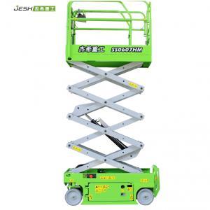 China High quality mini ewp elevating 6m 230kg capacity electrical hydraulic scissor lift equipment for sale on sale