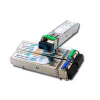 Buy cheap BiDi SFP Fiber Optic Transceiver Package With LC / SC Connector from wholesalers