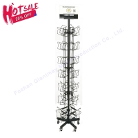 Buy cheap 1860mm Height Post Card Display Rack from wholesalers