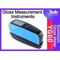 Buy cheap YG60 Accuracy Gloss Meter 60 Degree Semi Automotive Paints / Coatings Gloss Measurement Instruments from wholesalers
