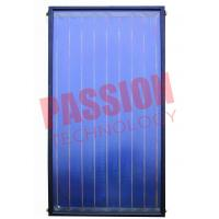 Buy cheap 304 Stainless Steel Flat Plate Solar Collector Glass Cover Material 0.6Mpa from wholesalers