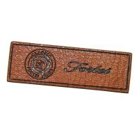 Buy cheap Personalized Logo Embossed Custom Leather Patches biodegradable from wholesalers