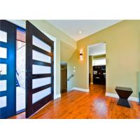 Buy cheap Customized Size Solid Wood Doors Glass Pivot EPE Inside Strong Carton Outside from wholesalers