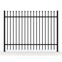 Buy cheap Australia Standard Steel Tubular Fence for Sale available 2 rail ,3 rails and 4 rails from wholesalers