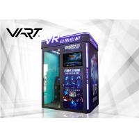Buy cheap English Version 1 Player 9D Virtual Reality Arcade Games  L1.9 x W1.5 Space from wholesalers