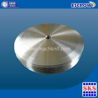 Buy cheap Toilet paper circular blade from wholesalers