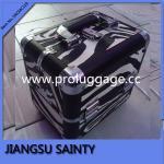 Buy cheap Fashion bold zebra pattern medium size make up case from wholesalers