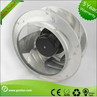 Buy cheap Electric Power AC Centrifugal Fan / Exhaust Quiet Industrial Fan For Clean Room System from wholesalers