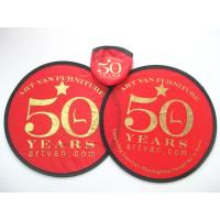 Buy cheap Anniversary Celebration promotional gift pouch store nylon frisbee product
