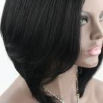 Buy cheap indian women hair full lace wig long black hair wigs, indian natural women hair wig from wholesalers