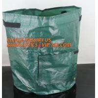 Buy cheap Garden Grow Bags Aeration Fabric Pots Potato Planter Bag with Handles and Access Flap,Potato Tomato Strawberry Vegetable from wholesalers