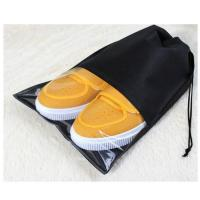 Buy cheap Promotional Recycle Non Woven Storage Bag Shoe Covers Travel Drawstring Bags from wholesalers