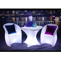 Buy cheap PE Swimming Pool Outdoor Furniture With LED Lighting Customized Colors from wholesalers