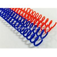 Buy cheap Colorful  Spiral Binding Coils 48 Rings For Proposals, Reports, Manuals Binding from wholesalers
